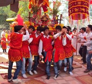 Lễ thu tế làng Xuân Hòa
