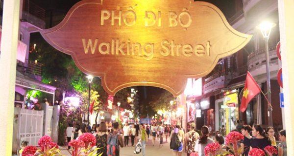 Tuyến phố đi bộ Phạm Ngũ Lão, Chu Văn An, Võ Thị Sáu – Tp. Huế